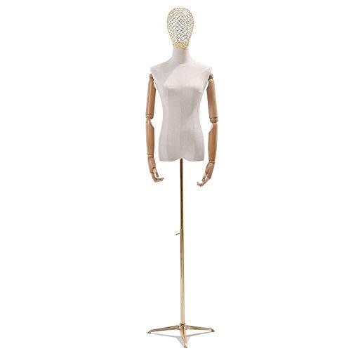 Tailors Dummy jurk vormen Model Props Vrouwelijke Body Kleding Winkel Model Rack Halflange Vrouwen Bruidsjurk Rack mannequin full body
