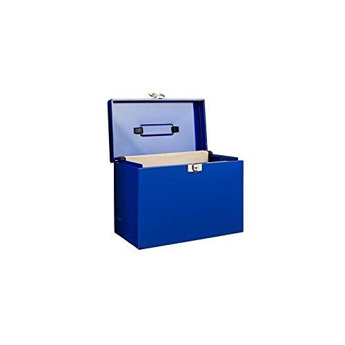 Boite Habitat avec 5 Dossiers à Suspendre, Bleu
