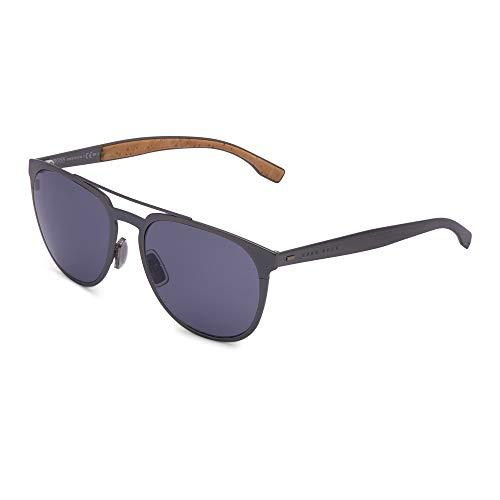 BOSS ORANGE BOSS0882/S HUGO BOSS Sonnenbrille BOSS0882/S-0S5-57 Herren Aviator Sonnenbrille 57, Grau