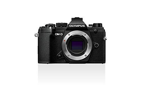 Carcasa de la cámara Olympus OM-D E-M5 Mark III Micro Four Thirds, sensor de 20 Mpx, estabilizador de imagen de 5 ejes, potente autoenfoque, visor electrónico OLED, vídeo 4K, WLAN, Bluetooth, negro