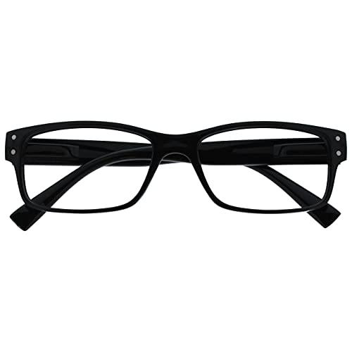 Uv Reader Negro Gafas De Lectura Hombres Mujeres Uvr011 +1,00 50 g