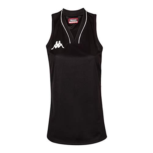 Kappa Caira Basketball-Shirt, Damen L Schwarz