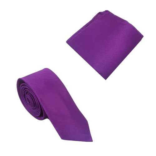 Corbata Skinny Purple | Inteligente - Casual | Corbata de Cuello