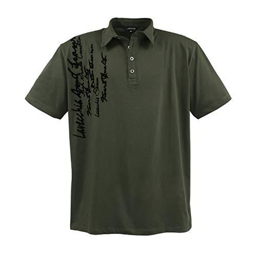 Lavecchia Men's Polo Shirt Khaki, Dimensione:7XL
