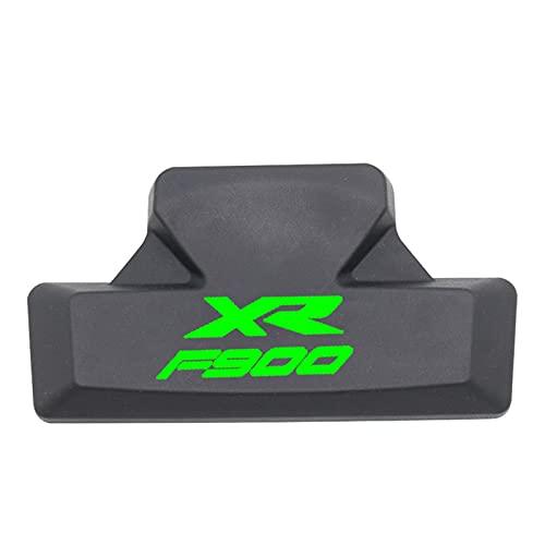 Protector para Depósito para B-M-W F900XR F900 900XR 2019 2020 2021 Cojín De Respaldo De Goma para Pasajero Bolsa Trasera Pegatina para Maletero Trasero Calcomanías De 3M (Color : D)