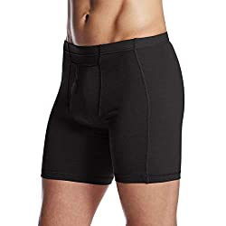 Minus33 Merino Wool 702 Acadian Men's Lightweight Boxer Brief - Anti Odor No Itch Renewable Fabric