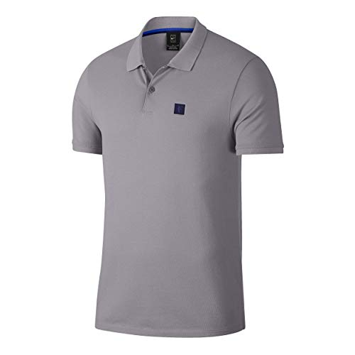 Nike RF Dry Essential Polo pour Homme S Violet Provence