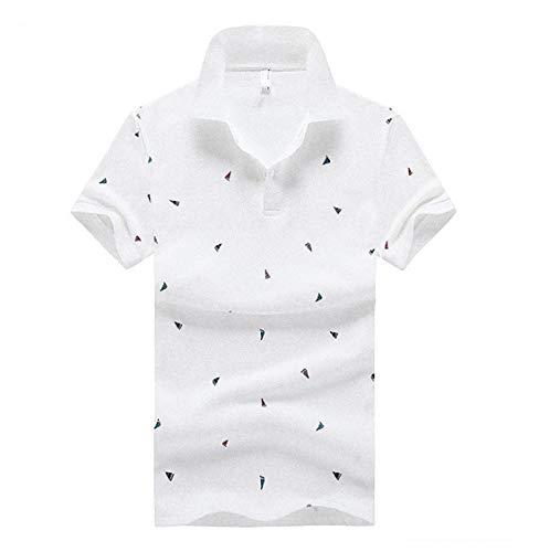 [ Smaids x Smile (スマイズ スマイル) ] ポロシャツ トップス 半袖 柄 ボタン 襟付 シンプル ゴルフウェア ニットキャップ ブーツ レディース グローブ オシャレ トレンド ワイルド ハーフパンツメンズ セットアップ スポーティング