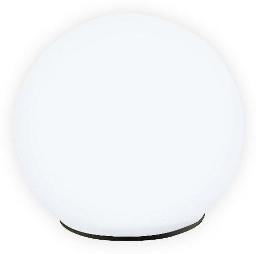 Lunartec Lampada A Palla Da Giardino A Led In Vetro, Ad Energia Solare Con Crepuscolare