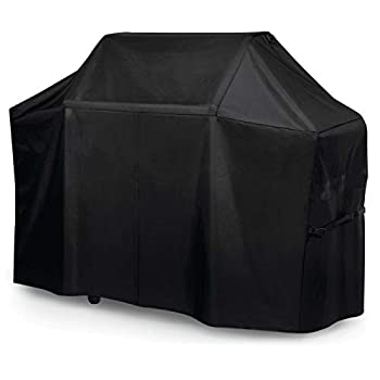 BBQ Barbecue Grill Cover 50  W x 27  D x 48  H Suitable for Most Sterling Forge Broil King Ducane Brands of Grills - 600D Oxford Fabric is Waterproof with Covered Dual Handles & Side Buckles