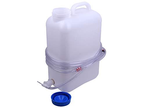 Ackrutat Aquamatik Kanister zur Batteriebefüllung 19 Liter Fallwasserbehälter aus High Density Polyethylen