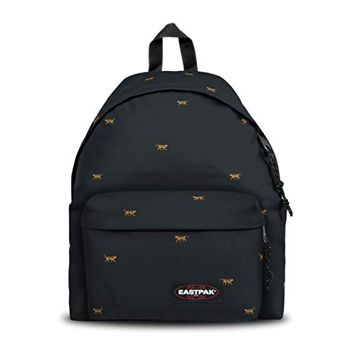 Eastpak Padded Pak'r Backpack, 40 cm, 24 L, Mini Tiger (Black)