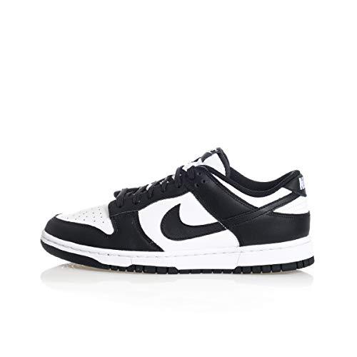 Nike W Dunk Low, Zapatillas de bsquetbol Mujer, White Black White, 39 EU