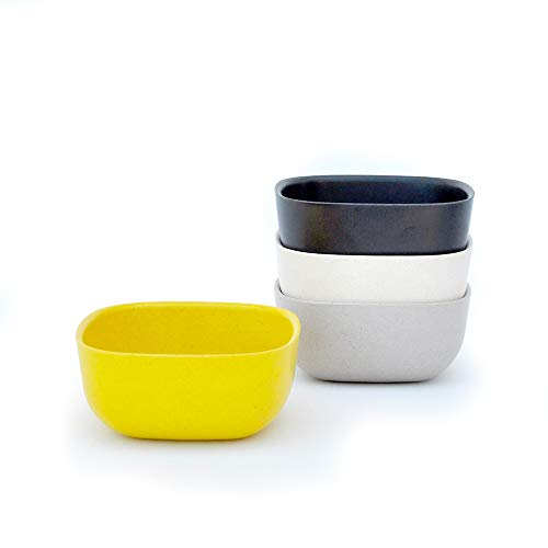 EKOBO 34567 Schale, Black, Stone, White, Lemon