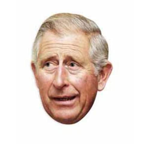 STAR CUTOUTS - Stsm45 - Masque pour Adulte - Prince Charles
