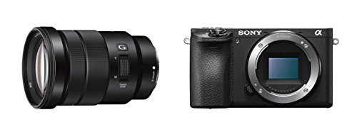 Sony Alpha ILCE6500B - Cámara compacta de 24.2 MP (11fps, 5 ejes,...