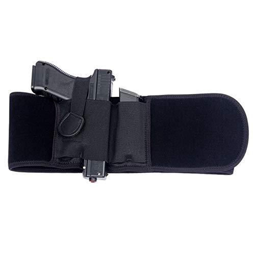 GY Funda de Pistola táctica Funda Militar portátil Oculta Cinturón Ancho Funda para teléfono móvil Caza al Aire Libre Disparo de Defensa Funda con Bolsa para Revista