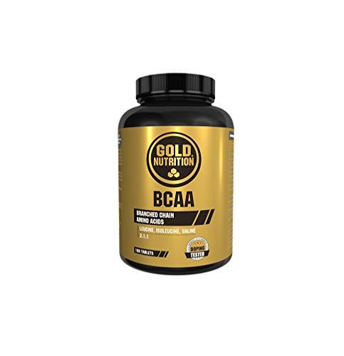Goldnutrition BCAA's, 180 comprimidos, Conservar Masa Muscular