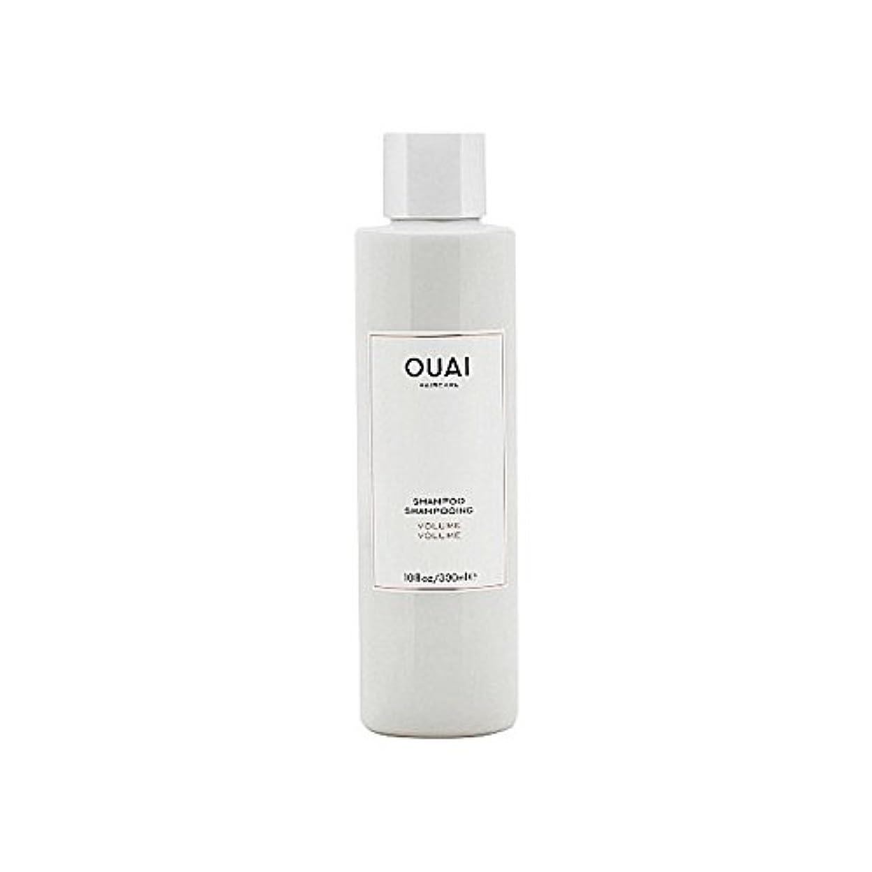 マカダムニックネーム論争的Ouai Volume Shampoo 300ml - ボリュームシャンプー300ミリリットル [並行輸入品]