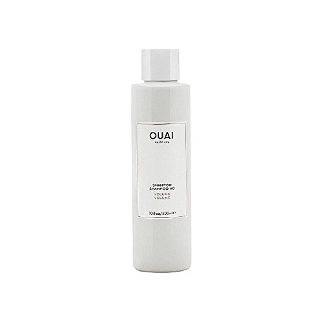 ボリュームシャンプー300ミリリットル x4 - Ouai Volume Shampoo 300ml (Pack of 4) [並行輸入品]