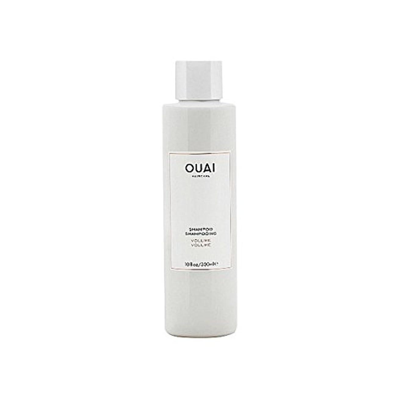 エキゾチック定規わずかにOuai Volume Shampoo 300ml - ボリュームシャンプー300ミリリットル [並行輸入品]