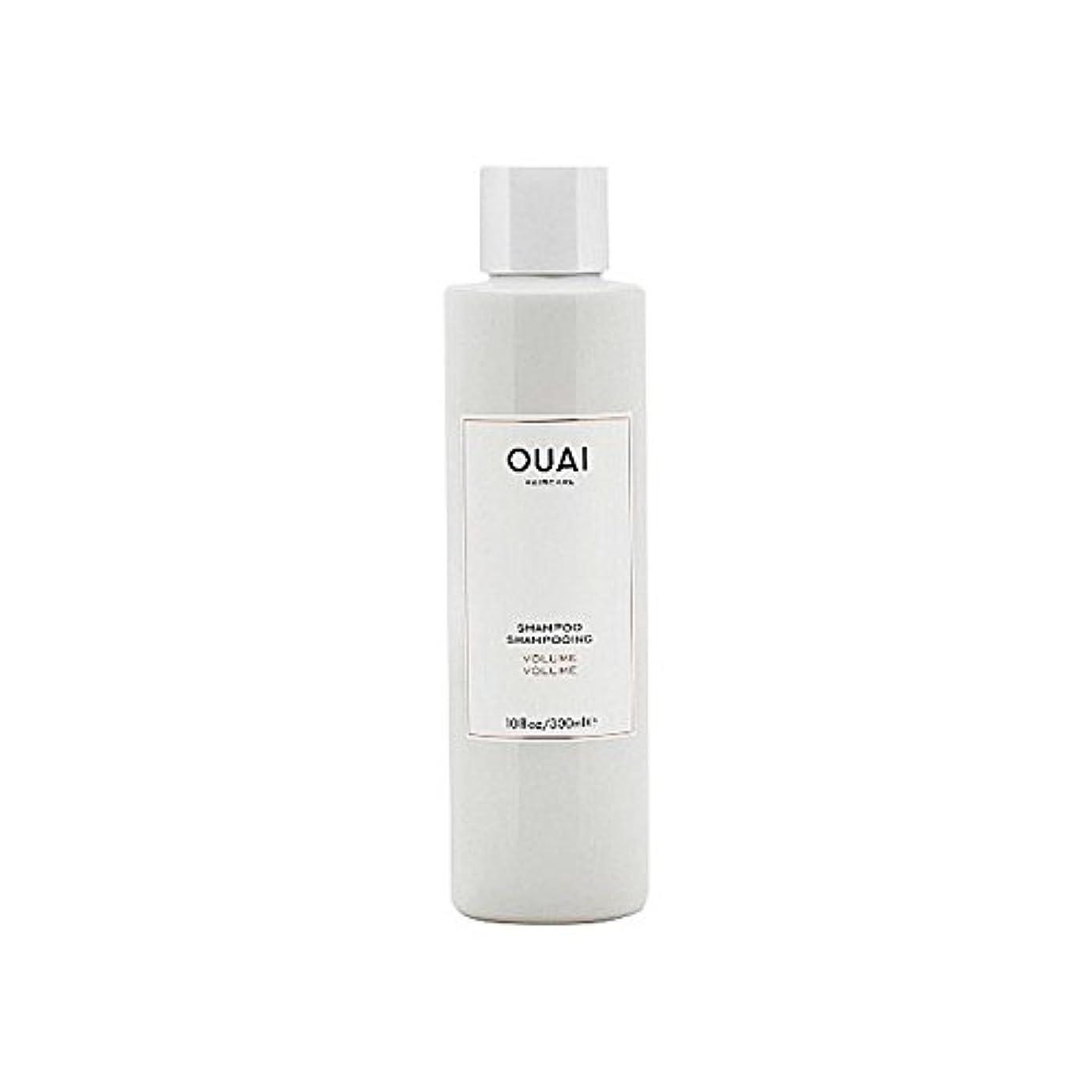 研磨剤できれば脊椎Ouai Volume Shampoo 300ml - ボリュームシャンプー300ミリリットル [並行輸入品]
