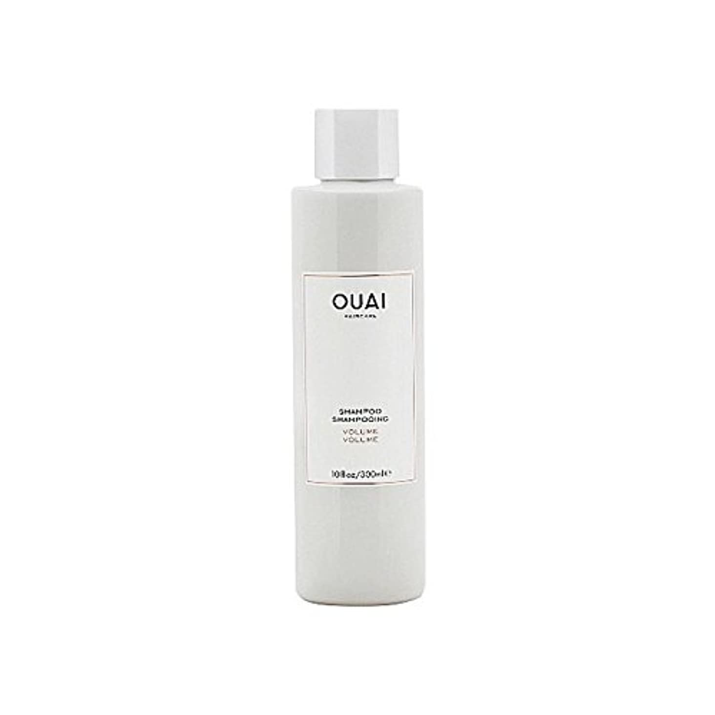 雑草去る繊細Ouai Volume Shampoo 300ml (Pack of 6) - ボリュームシャンプー300ミリリットル x6 [並行輸入品]