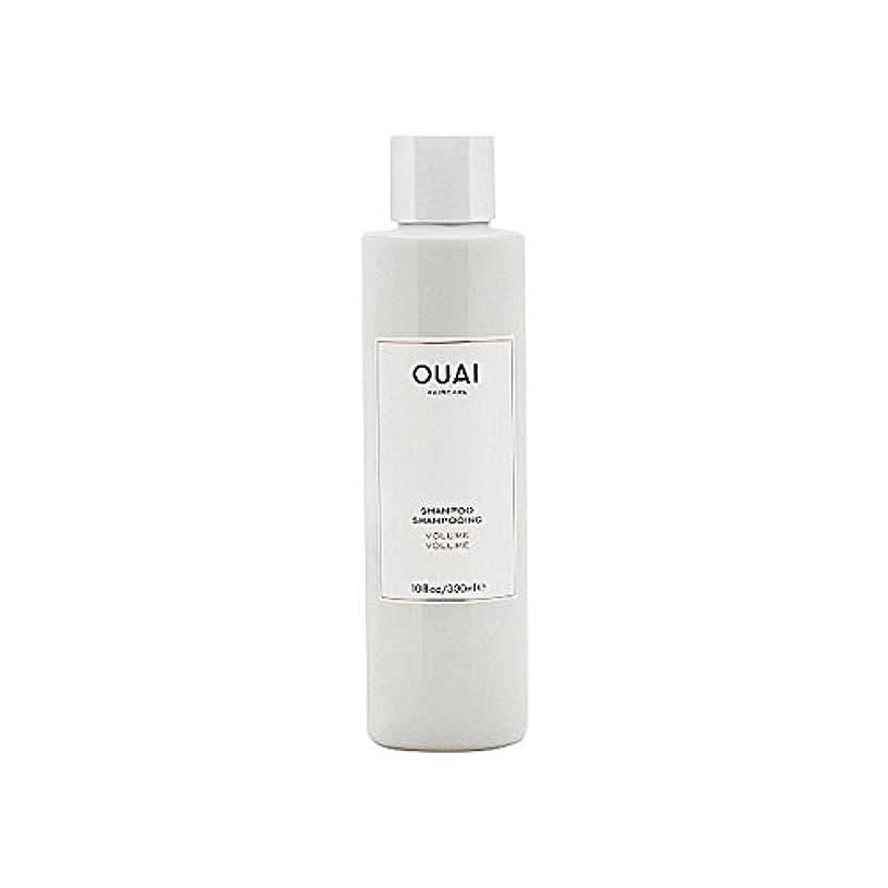 計器バーチャル失ボリュームシャンプー300ミリリットル x4 - Ouai Volume Shampoo 300ml (Pack of 4) [並行輸入品]