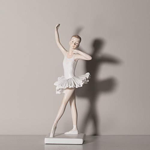 Décoration de la Maison, Figurines de Ballet en résine, décoration de Jardin, décoration de Bureau de Chambre à Coucher de Salon, Cadeaux de Fille de fête des mères de Pâques C