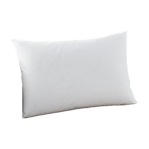 MoonRest Lumbar Pillow Form Insert Hypoallergenic Sham Stuffer, 100% Polyester Microfiber Fill, Lined with Woven Cotton Blend Cover for Decorative Pillow Couch Sofa Bed Cushions 12 X 20