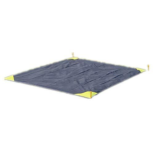 XGTsg Un Pique - Nique Pique - Nique Mat Imperméable Pliables Pelouse Beach Mat Les Tapis Imperméables Pique - Nique Mat 200 * 140 Cm,Bleu Foncé