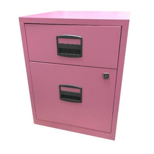 5x Home Office Rollcontainer • Schreibtisch- Metallcontainer • Bisley