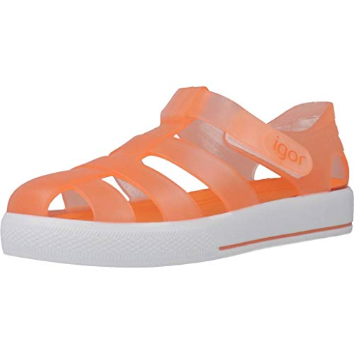 IGOR S10171 Sandali Infradito Bambino Arancione 24 EU