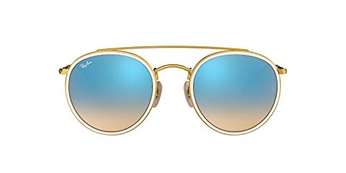 Ray-Ban RB3647N 001/4O 51 Rayban RB3647N 001/4O 51 Rund Sonnenbrille 51, Gold