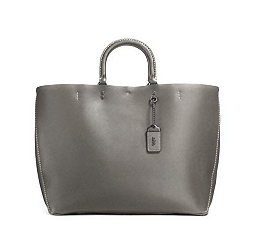 Coach 1941 Rogue Tote Glovetanned leather Heather Grey 26886