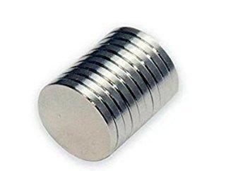 2/unidades aomag/® Fuerte 50/X 10/mm Grado N52/Cilindro Im/án de disco de neodimio con avellanado