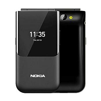 Nokia 2720 2.8   TA-1170  4GB Dual SIM Flip Phone GSM Unlocked International Version No Warranty - Black
