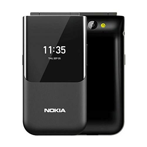 Nokia 2720, 2.8' (TA-1170) 4GB, Dual SIM, Flip Phone, GSM Unlocked, International Version, No Warranty - Black
