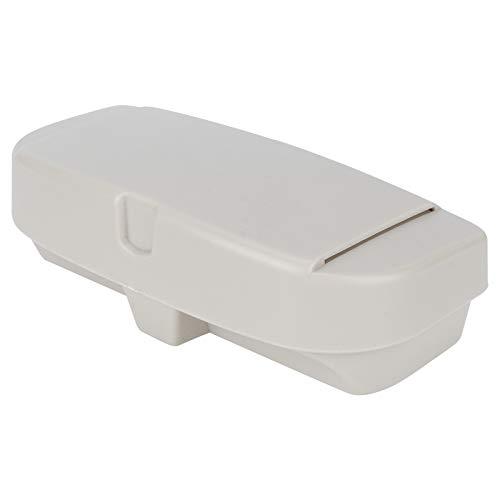 Accesorio de vehículo Soporte de Caja de Gafas Clip de entradas Clips Caja Universal montada en Visera para Coche Funda de Gafas con Visera de Coche(Beige)
