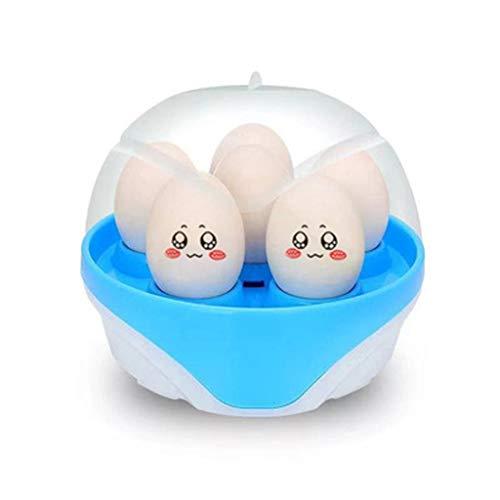Cuiseur à Œufs Électrique Multifonction simple couche double couche Egg Cooker Steamer Egg Accueil Petit déjeuner machine Matériel Safe Cuiseur à Œufs (Color : Blue)
