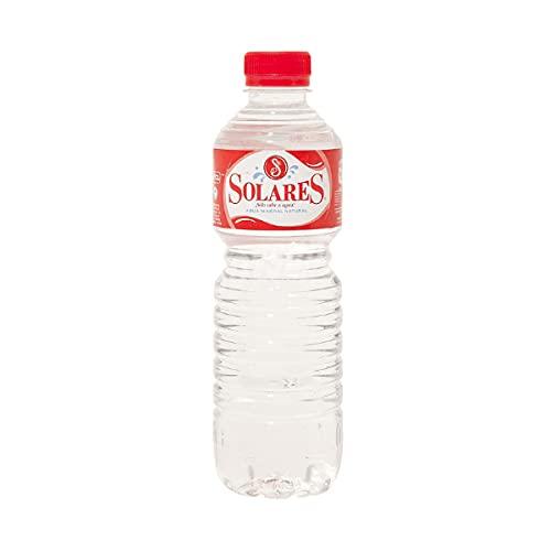 Agua Mineral Natural Solares caja de 24 botellas de 50 cl