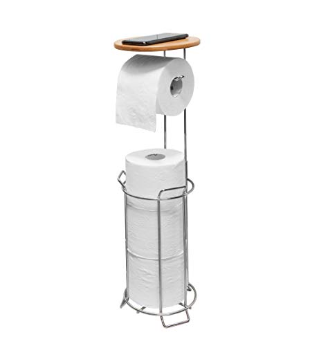 Top 10 best selling list for easy home bamboo toilet paper holder