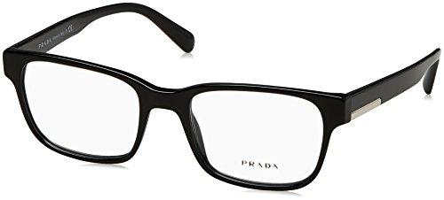 Prada Herren 0PR 06UV Brillengestell, schwarz, Einheitsgröße