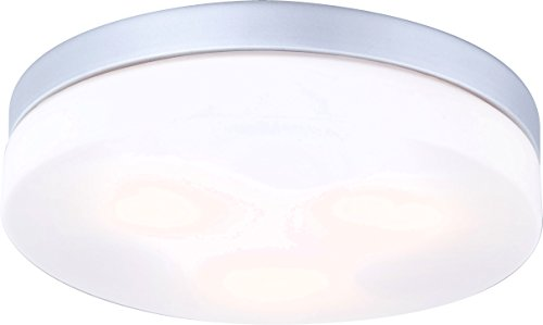 Globo Deckenleuchte Alu Glas opal, 3 x 40 W, E27, IP44, ø 30 cm 32113