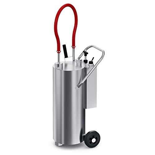 Pompa à Graisse - Recipiente para freidora (40 L), color gris
