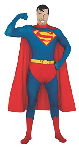Rubie's Men's DC Comics 2nd Skin, X-Large, Superman