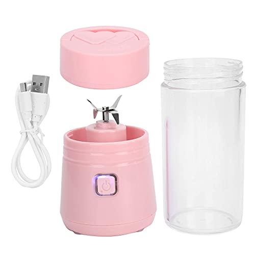 Vaso de agua Exprimidor eléctrico licuadora portátil colección diaria licuadora recargable mini exprimidor de cóctel batido fabricante de batidos de alta velocidad \U200B\U200B\U200Bfruit jugo