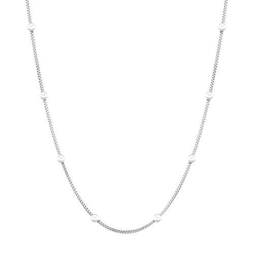 Liebeskind Berlin Halskette (Silber, Edelstahl)