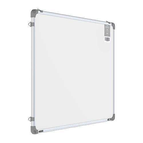 Pragati Systems® Genius Regular Steel (Magnetic) Whiteboard for Office, Home & School (GRMWB6090), Lightweight Aluminium Frame, 2x3 Feet (Pack of 1)