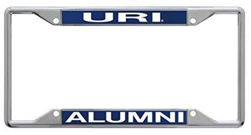 WinCraft University of Rhode Island URI Rams Alumni Premium License Plate Frame, Metal with Inlaid Acrylic, 4 Mount Holes